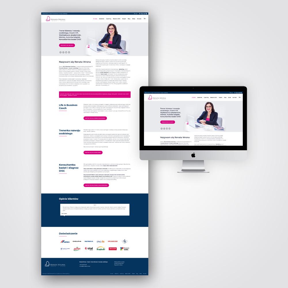 Projekt strony internetowej Kielce - Marketing4All