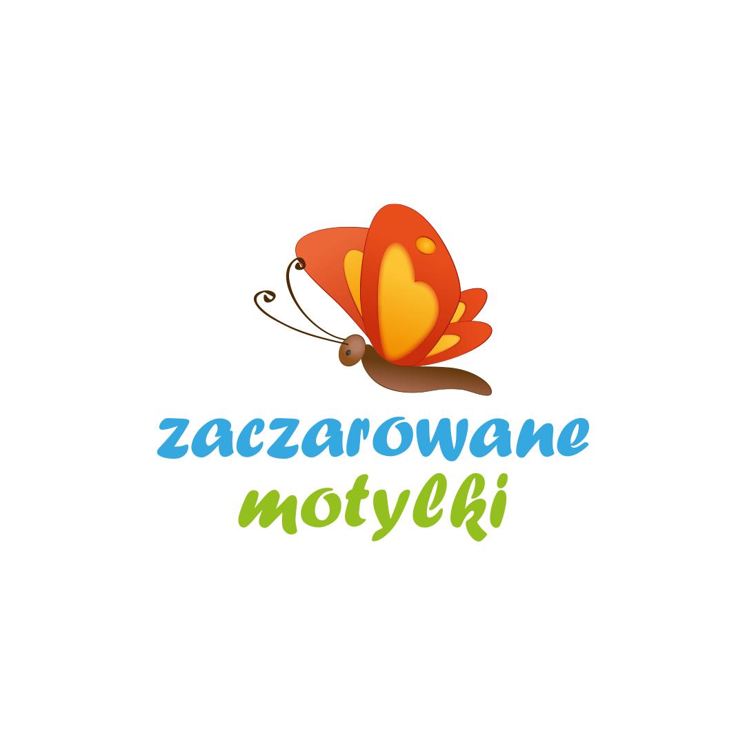 Projekt logo i identyfikacji Zaczarowane motylki